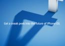 Apple presenta giovedì il  nuovo sistema operativo di iPhone