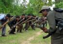 Ribelli maosti fanno strage di soldati indiani
