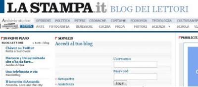La Stampa chiude i blog dei lettori