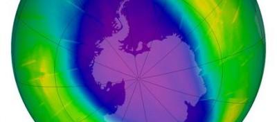 Il buco con l'ozono intorno