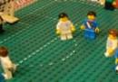 Inghilterra - Stati Uniti 1 a 1. Coi Lego