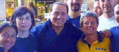 Cinque articoli IKEA per Berlusconi