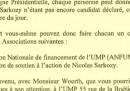 Il documento che imbarazza Sarkozy