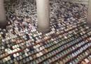 In Indonesia pregavano verso la Mecca dalla parte sbagliata