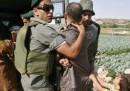 Hebron, la lotta per l'acqua e il bambino