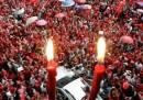 In Thailandia tornano le camicie rosse