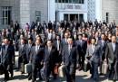 Le foto del congresso in Corea del Nord