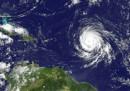 I tre uragani sull'Atlantico