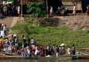 Scontri finiti, i birmani tornano a casa