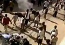 Gli scontri tra l'ONU e gli haitiani