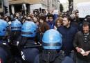 Le contestazioni a Berlusconi a Padova