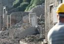 Il crollo della Schola Armaturarum a Pompei
