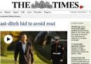 Quanti sono i lettori del Times online a pagamento