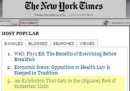 Come ingannare il New York Times