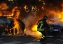 La guerriglia a Roma, foto e video