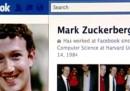 I nuovi profili di Facebook