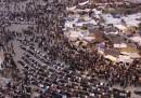 Piazza Tahrir è diventata un campeggio