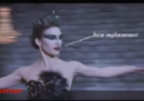 La faccia di Natalie Portman su una vera ballerina