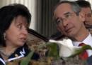 Il divorzio del presidente del Guatemala