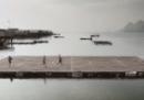 Il campo da calcio galleggiante