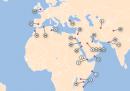 La mappa degli attentati di al Qaida