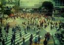Camminare lentamente a Tokyo