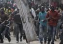 Le foto degli scontri a Dakar