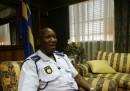 Il capo della polizia sudafricana è nei guai