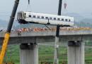 La causa dell'incidente ferroviario in Cina