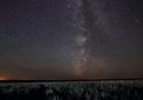 La Via Lattea e il temporale