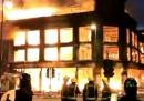 La casa bruciata di Tottenham