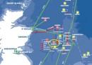 La perdita di petrolio nel Mare del Nord