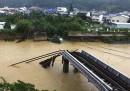 Le foto del tifone Talas in Giappone