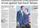 I giornali inglesi di mercoledì