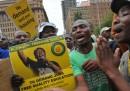La marcia di Johannesburg