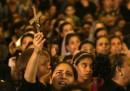 I funerali dei copti uccisi in Egitto