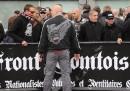 La manifestazione fascista a Lille