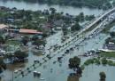 Le inondazioni in Thailandia viste dall'alto