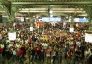 Si balla alla stazione di Mumbai