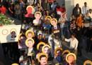 La marcia dei copti in Piazza Tahrir