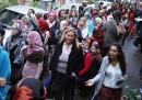 Il primo giorno di voto in Egitto