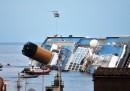 Costa Concordia, le foto di giovedì