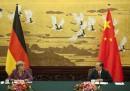 Le foto di Angela Merkel in Cina