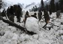La neve in Kashmir