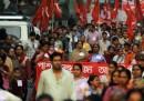 Lo sciopero generale in India