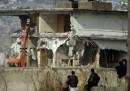 La demolizione della residenza di Osama bin Laden
