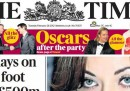 I giornali inglesi di martedì 28 febbraio