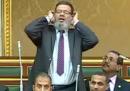 Il parlamentare egiziano muezzin