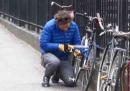 È facilissimo rubare una bici a New York