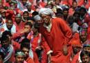 Lo sciopero dei facchini di Delhi